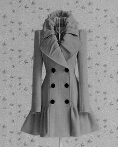 Cute Gray Coat <3