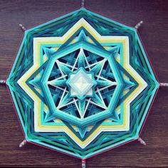 Mandala Ojo de Dios  Votre mer intérieure  par BeHappyMandalaShop