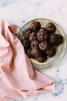 Chewy Dark Chocolate Coconut Macaroons. These fudgy, chewy dark chocolate coconut macaroons are super moist and delicious.