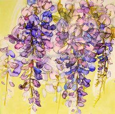 Purple wisteria Purple Wisteria, Gallery, Women, Roof Rack, Woman