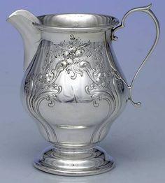 Alvin Chateau Rose (Sterling,1940,Hollowware) Creamer