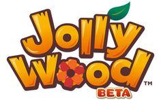 JollyWood-Logo mobile game logo graphics design and illustrator Board Game Design, Game Logo Design, Mobile Logo, Mobile Game, Bg Design, Graphic Design, Toys Logo, Cartoon Logo, Game Icon