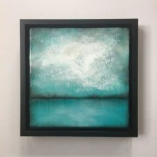 """getting ready for the next event/show. Painting extra these days, realizing that summer is around the corner and my """"in my zone"""" time… Abstract Landscape Painting, Landscape Art, Landscape Paintings, Abstract Art, Wax Art, Encaustic Painting, Art Projects, Artwork, Watercolors"""