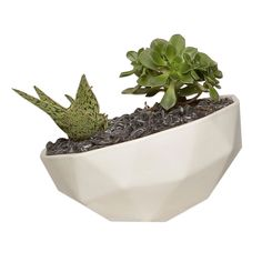 The #KellyLamb Medium Geo Planter is perfect for our #diningroom #table. Available at COOLS.com thecools.co/1sYc1Xt