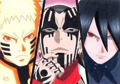Naruto And Sasuke, Anime Naruto, Kingdom Hearts Anime, I Ninja, Cool Anime Wallpapers, Naruto Shippuden Sasuke, Anime Crossover, Manga Drawing, Sketch