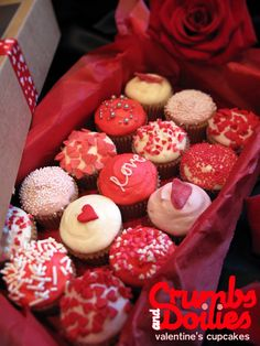 valentine cupcakes - Google Search
