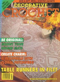 Decorative Crochet 22 - jurate - Álbuns da web do Picasa...FREE MAGAZINE!!