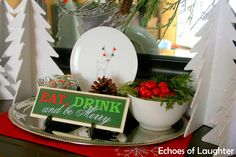 Echoes of Laughter: Christmas Decor 2012...