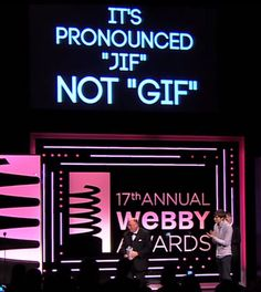 How do you pronounce GIF? The Official Answer