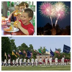 This Independence Day come celebrate America's Birthday with history, food, and fireworks!