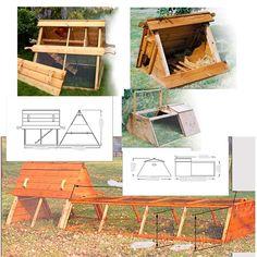 Chicken/Rabbit Tractor Combo idea