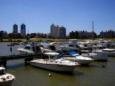 Puerto del Buceo, Montevideo.