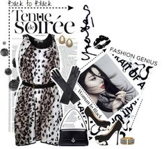 """""""A Woman Back in Black"""" by valeria-87 ❤ liked on Polyvore"""