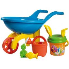 Carriola per Spiagga e Giardino con Accessori - Giochi da Spiaggia e Giardino  http://www.coocoolooo.com/giocattoli-per-bagno-bagnetto-bambini.html  Beach and Garden Wheelbarrow with Accessories - Sand Toys  http://www.coocoolooo.com/bath_sand_pool_games_toys_children.html  MADE IN ITALY