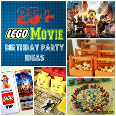 Lego Movie Birthday Party Ideas: *Just Added* Taco Tuesday printables. Check the comments for this idea + view other great Lego Movie Ideas! Lego Movie Party, Lego Movie Birthday, Lego Themed Party, 6th Birthday Parties, Boy Birthday, Birthday Ideas, Lego Parties, Superhero Party, Lego Film