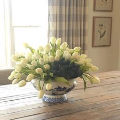 "15"" Soft Touch Tulip Bundle We love mounded tulips!  Who doesn't? These are perfect to do that!  #fauxflowers #diningroom #homedecor"