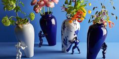 These Superhero Vases Are Delightfully Quirky And Surprisingly Chic - ELLEDecor.
