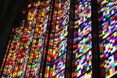 Stained glass, contemporary
