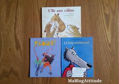 [Concours 1 an du blog] Mes histoires du soir Le Loup Sentimental, Act For Kids, 1 An, Cover, Books, Pageants, Libros, Book, Book Illustrations