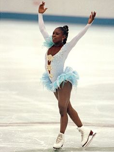 Surya Bonaly, the greatest bad ass in Olympics History: figure skating is racist and Surya was tired of being given lower scores than her white counterparts