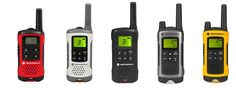 Motorola TLKR walkie talkie range talks up the talk.
