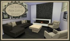 Sims 4 CC's - The Best: Living Room by Dinha Gamer