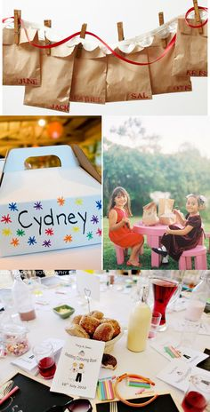 children's wedding activity packs goodie bags