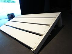 Make a pedal board from a gorm shelf.