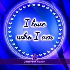 Today's Affirmation: I Love Who I Am <3 #affirmation #coaching