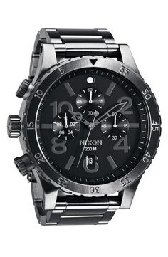 Nixon 'The 48-20' Chronograph Watch, 48mmShop for more like this on Wantering!