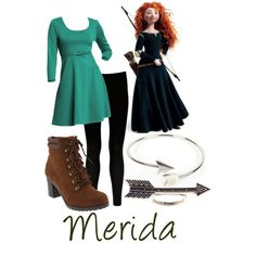 """Merida"" by teamrocketme on Polyvore"