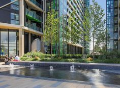 Riverlight by Gillespies « Landscape Architecture Works | Landezine #urbanlandscapearchitecture