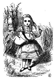 Confira 14 ilustrações originais do livro Alice no País das Maravilhas   Blog do Ben Oliveira Arte: John Tenniel, 1865.