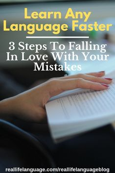 Mistakes are an inevitable part of the journey to mastering a language. My advice on how to fall in love with them on this guest post on Fluent in Three Months. German Language Learning, Language Study, Learn A New Language, Foreign Language, Sign Language, Spanish Teaching Resources, Teaching Tips, Spanish Activities, Spanish Games
