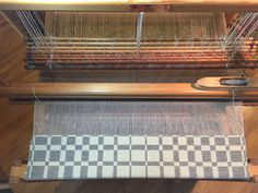 Barbara Pickel - weft faced double weave blanket. Cottolin warp; wool weft.