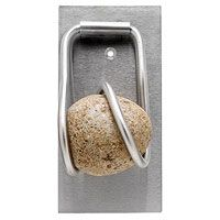 Stone Door Knocker. Outside of the Inside. Joe is sooo going to make us one of these!