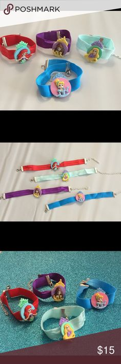 Disney Princess Toddler Choker This cute chokers are for the little princess in your life. Great for a gift, birthday party, or just a statement piece. Best fits ages 1-3 years old. Adjustable. Accessories Jewelry