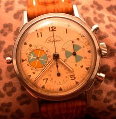 Abercrombie & Fitch Seafarer with the Valjoux 721 Movement - circa '55