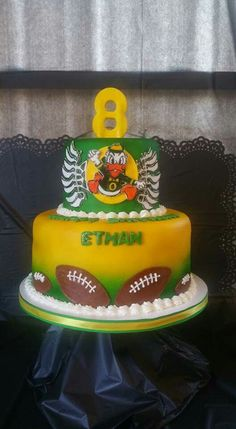 Go Ducks Birthday Cake