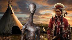 Los Nativos Americanos no tienen Miedo a los Extraterrestres - He aquí el Por qué         Las culturas profundamente espirituales, recue...