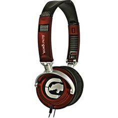 #Red Motion Over-Ear #Headphone  Ecko EKU-MTN-RD  PRICE DROP!
