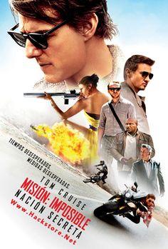 Poster de Misión: Imposible Nación Secreta (2015) HD Subtitulada