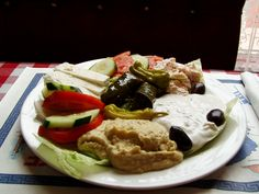 greek food ! yum