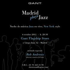 Madrid Plays Jazz #invitation #graphic #design #creativity #vector