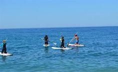 Stand Up Paddling in #Südspanien. Wer hier ins Wasser fällt, friert nicht. Das Mittelmeer an der Costa Tropical ist immer noch warm! #standuppaddle #costatropical #maro #sup