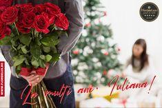 Iulian, Iuliana! La mulți ani, dragilor! 🎁🌺 Vă dorim o zi minunată! 📩 Comandă online oricând pe www.floridelux.ro ☎️ Comandă rapid telefonic 0372740106 // pe Whatsapp 0722560914 🚙 Livrare flori oriunde în România de luni până duminică; livrare gratuită la comenzi de peste 199 RON #floridelux #flowers #nature #flower #love #photography #flowerstagram #winter #winterishere #hellodecember #flowershop #florist #christmasmood #flowerphotography #like #photo #naturelovers #beauty #roses…