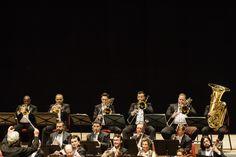 Metais OSB na Cidade das Artes acompanhando o maestro e violinista Pinchas Zukerman Foto: Cicero Rodrigues