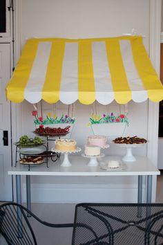 french bistro birthday party