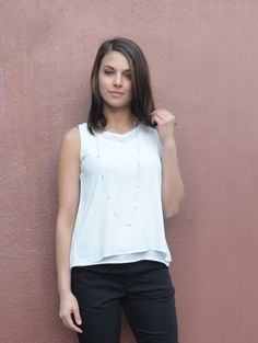 This lightweight & flowy top is wrinkle-free with an elegant neckline. Perfect for layering in fast-changing weather. Ethical Shopping, Flowy Tops, Different Styles, Casual Wear, Modern Design, Ruffle Blouse, Elegant, Stylish, Womens Fashion