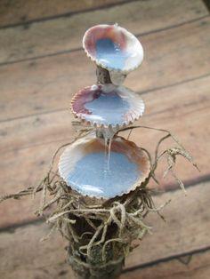 Fontaine d'eau de fée jardin Seashell accessoire par OrangeHound